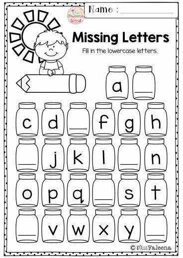 Worksheets For Kindergarten Alphabet In 2020 Kindergarten Morning Work Alphabet Worksheets Kindergarten School Worksheets