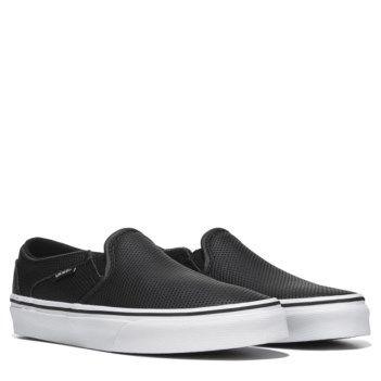 Vans Women's Asher Slip On Skate Shoe