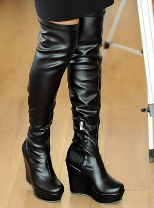 بيج بوت جزمة جزم Khaki Boots Beige Boots Black Boots