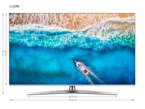 H65u7b Led Fernseher 163 Cm 65 Zoll 4k Ultra Hd Smart Tv Smart Tv Waves Water