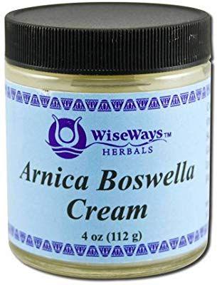 Amazon com : WiseWays Herbals Arnica Boswella Cream 4 oz