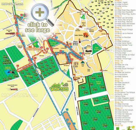 d17aa0204ea172ef252aef4864290372  travel maps marrakech morocco