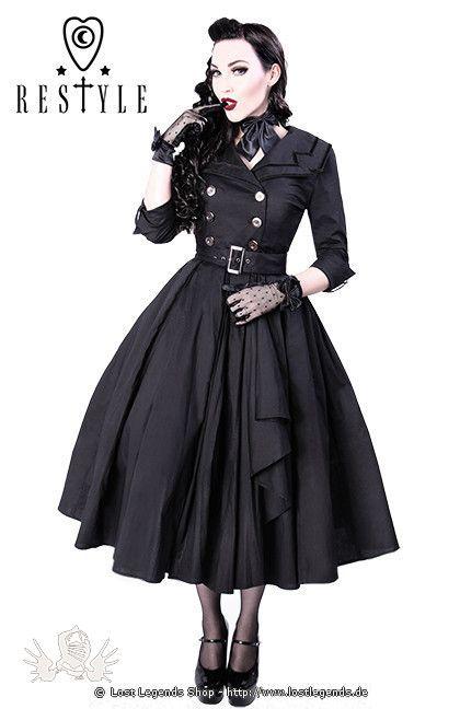 Gothic Kleid COAT DRESS