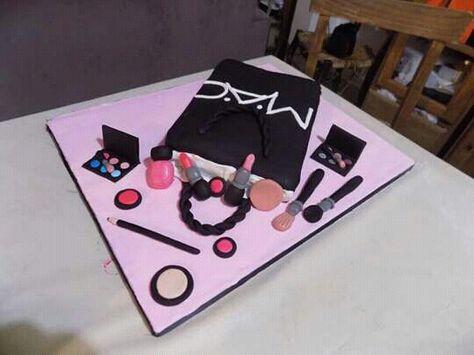 Torta Maquillajes MAC