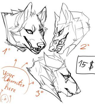 54 ideas drawing wolf cartoon character design references for 2019 Animal Sketches, Animal Drawings, Drawing Sketches, Art Drawings, Wolf Drawings, Drawing Tips, Art Reference Poses, Drawing Reference, Wolf Sketch