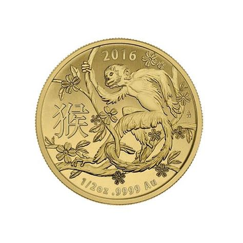 2016 1 2 Oz Year Of The Monkey Gold Coin For Sale At Goldsilver In 2020 Gold Coins For Sale Gold Coins Coins For Sale
