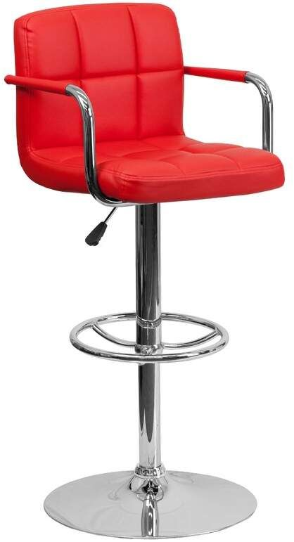 Strange Riko Adjustable Stool 87Cm To 109Cm Structube Caraccident5 Cool Chair Designs And Ideas Caraccident5Info