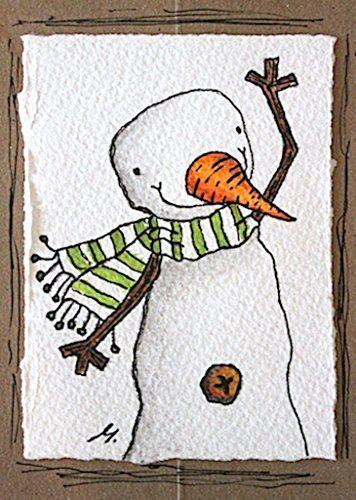 Carte De Voeux Pour Noel Realisee A Partir D Une Veritable