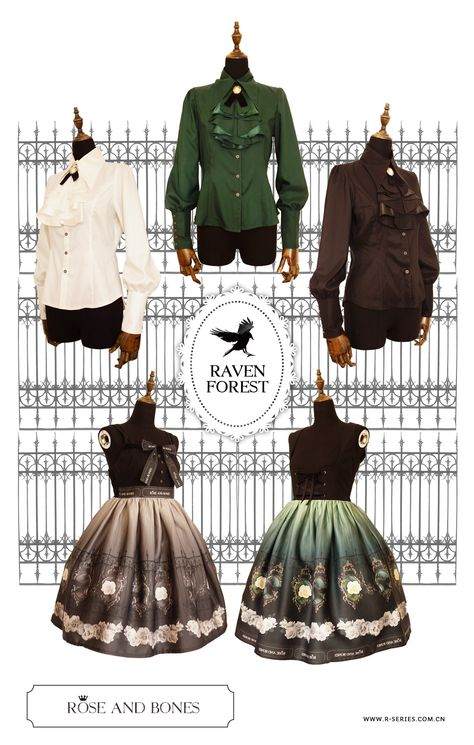 ★★★ Coming Soon: R-series ✙❋Raven Forest❋✙ Series ★★★ Including JSK, Blouse and Tights ★★★ Estimated Available Date: April 9th, 2015