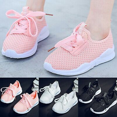 Sponsored Ebay Children Mesh Sneakers Kids Casual Gym Walking Running Sports Gym Athletic Shoes Girls Running Shoes Girls Tennis Shoes Casual Sport Shoes