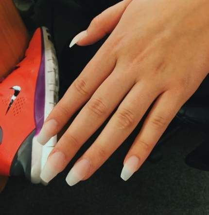 67 Trendy Nails Acrylic Clear Matte Clear Acrylic Nails Natural Acrylic Nails Acrylic Nail Shapes