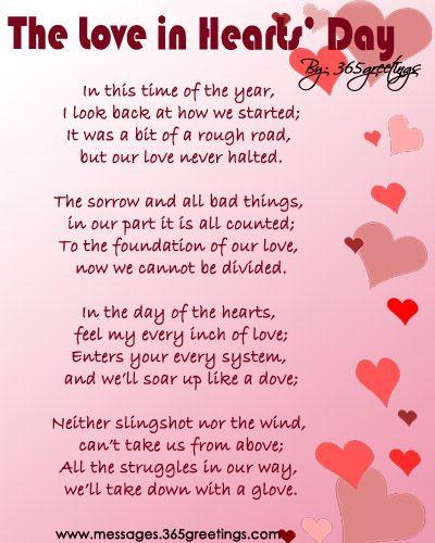 Poems short valentine love Valentine Love