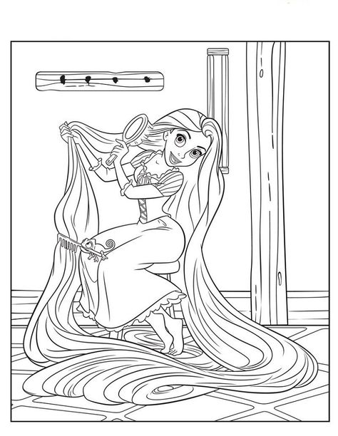Rapunzel Color Pages Practice 001. Also see the category to ... Read more