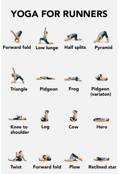 nice Yoga for runners :) My vision is to help people live healthy, fulfilling lives.....