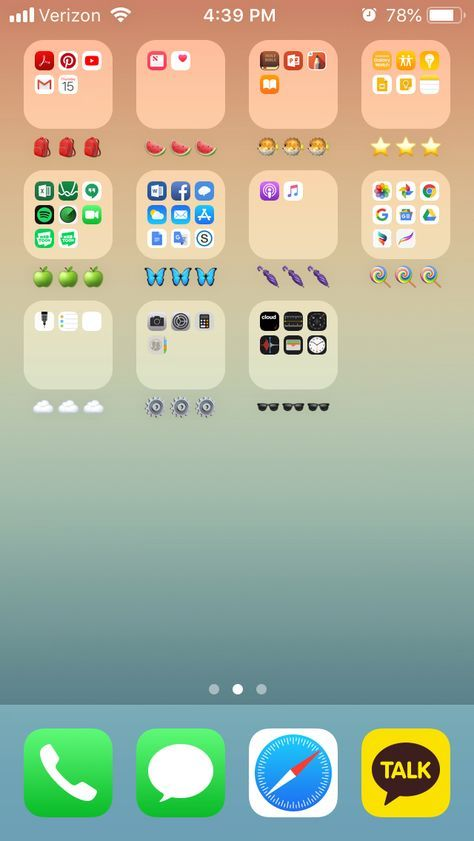 19 Ideas How To Organize Your Phone Home Screen By Color Organize Phone Apps Coding Apps Organization Apps