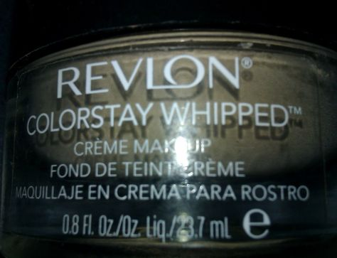 Make-Up Anonymous: Revlon Colorstay Whipped Creme Make-Up