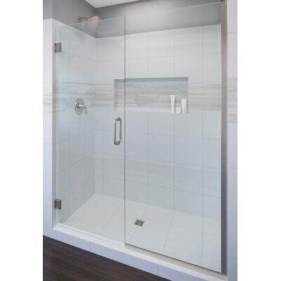 Basco Celesta 47 X 76 Pivot Adjustable Door And Panel Shower