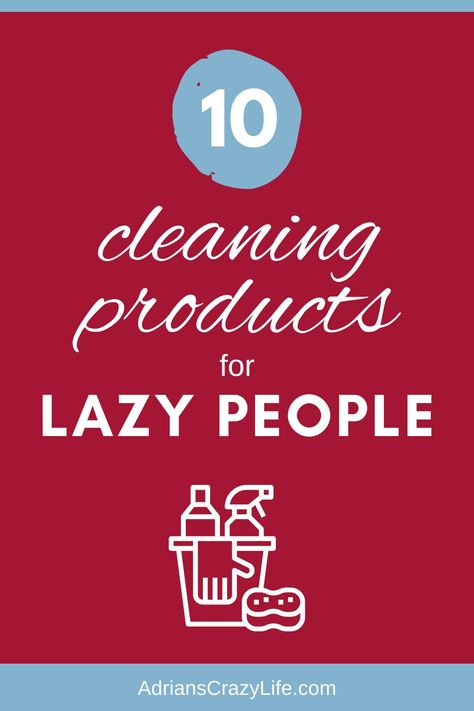10 Cleaning Products for LAZY People | Adrian's Crazy Life