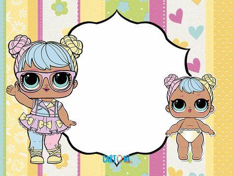 Cartoni Animati Lol Happy Birthday Card To Print Or Edit Online