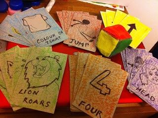 Diy Roll And Play Card Game For Toddlers Card Games For Kids Games For Toddlers Diy Games