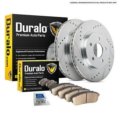 Rear Brake Rotors and Ceramic Pads For IMPREZA FORESTER LEGACY OUTBACK BRZ