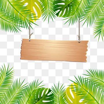Simple Fresh Tropical Palm Leaf Border Originality Leaf Palm Leaf Border Png Transparent Clipart Image And Psd File For Free Download In 2021 Tropical Frames Cartoon Leaf Tropical Leaves