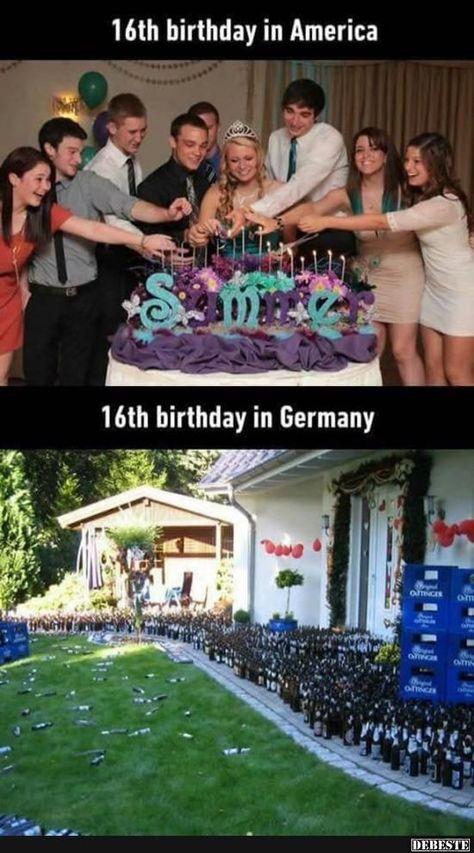 16 Geburtstag In Amerika Deutschland Mit Bildern Spruche