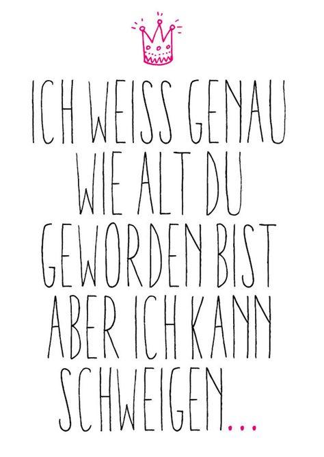 5 Geburtstags Postkarten im Set: Schweigen   Etsy
