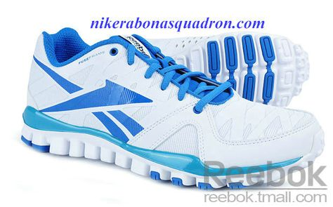 de219b23127 Reebok Realflex Transistion 3.0 Mens Running Shoes White Royal Blue J99476