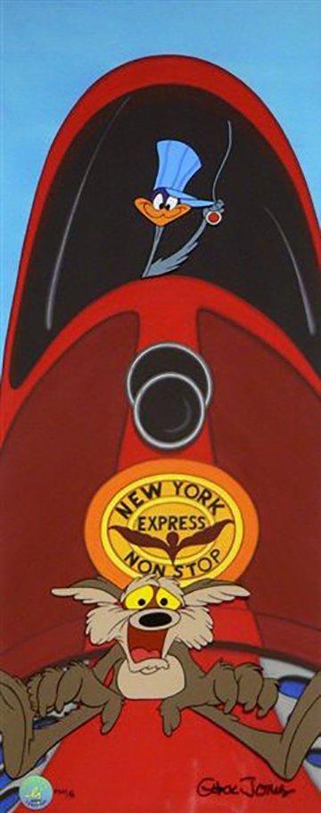 Chuck Jones Zip n Snort 2009 Warner Brothers Limited Edition Cel of 60
