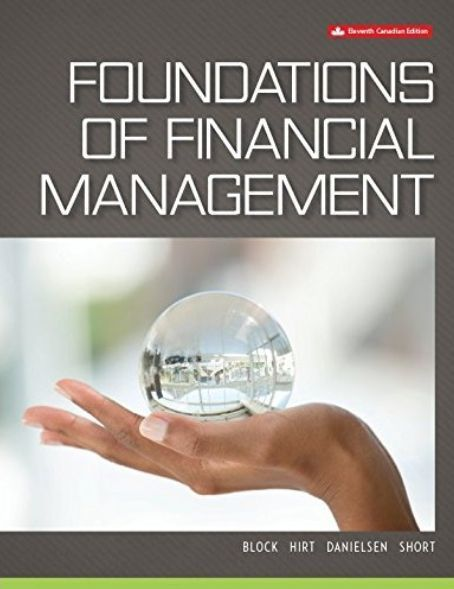 Foundations Of Financial Management Canadian 11th Edition