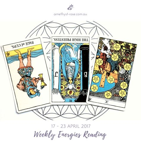#WeeklyEnergies #WeeklyTarotReading for 17 - 23 April 2017  There's an opportunity that's presenting itself but the perception that you hold about your worthiness and deservedness is delaying its appearance or may even prevent it from flowing into your life...   Click the image to get the whole reading <3 Vanda x  #WeeklyReading #EnergyOfTheWeek #GeneralReading #Tarot #InsightsFromTheTarot #WisdomOfTheTarot #ReadingsWithVanda #IntuitiveReadings #IntuitiveTarot #EmailReadings #WorldwideReadin...