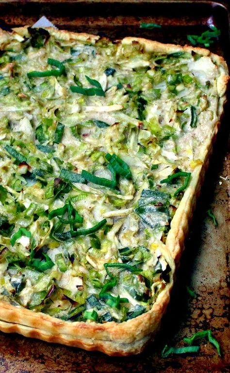 Vegan Cabbage Leek And Potato Tart Recipe Vegan Dishes Vegan Dinners Vegan Casserole