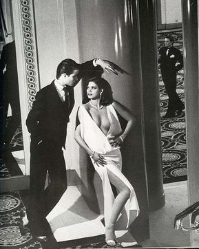 Gia Carangi by Helmut Newton for Vogue Paris.