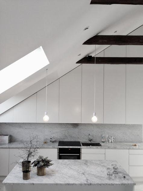Bilder, Kök/matplats, Snedtak, Marmor   Hemnet Inspiration | Kitchen |  Pinterest | Inspiration And Kitchens