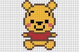 Resultat De Recherche D Images Pour Pixel Art Dessin Petit Carreau Pixel Art Winnie L Ourson Dessin Sur Petit Carreaux