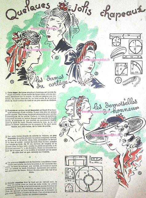 Couture Vintage 1947 Vintage Sewing Patterns Ideas Vintage