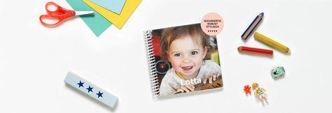 Pappfotobuch für Kinder online gestalten