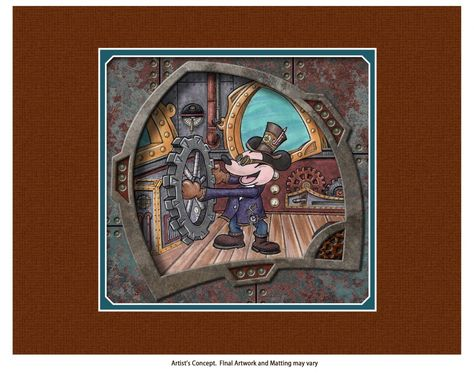 Steampunk Tendencies | DaveAvanzino-steampunk-mechanical-kingdoms-2