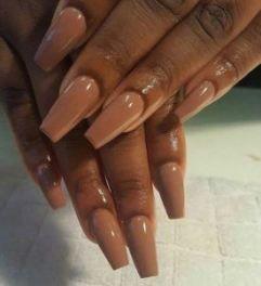31 Ideas For Nails Ideas Acrylic Coffin Dark Skin Burgundy Acrylic Nails Shiny Nails Designs Colors For Dark Skin