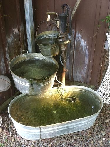 Garden Clean Water Fountains And