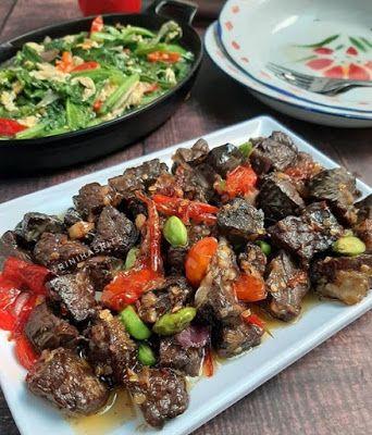 Oseng Paru Pedas Resep Masakan Masakan Makanan Pedas
