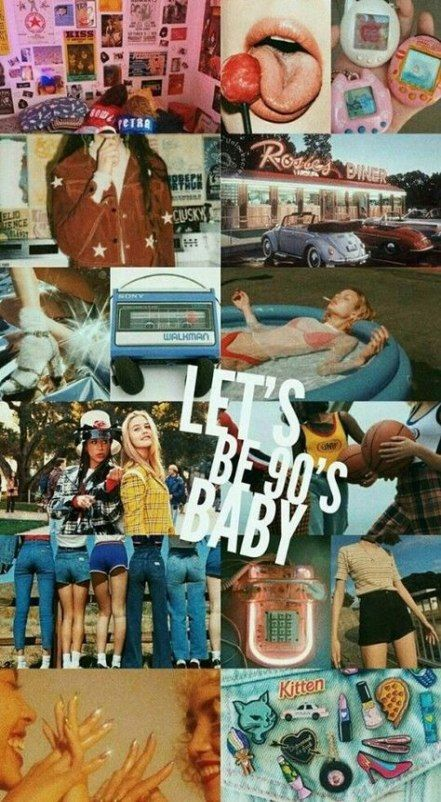 36 Ideas 90s Aesthetic Wallpaper Vintage Collage Vintage