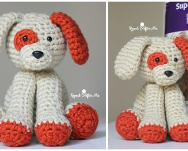 Amigurumi Plush Puppy Dog Toy Free Crochet Pattern Crochet Free