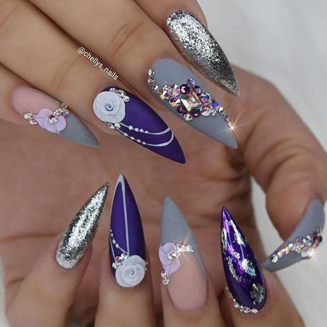 White for a new beginning! #nails #chellysnails #nailpro #nailartaddict #valentinobeautypure #dopenails #dopenailtech #nailsonfleek… #purplenails