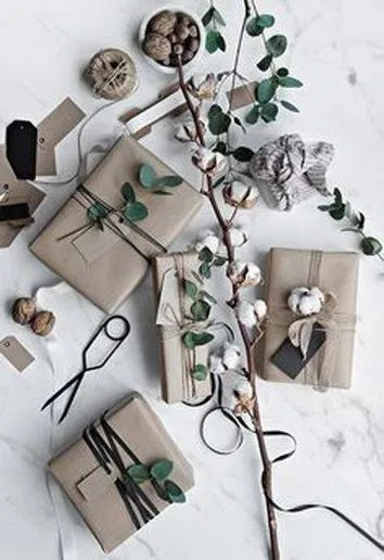 21 Free & Gorgeous DIY Christmas Gift Wrapping in 5 Minutes 15