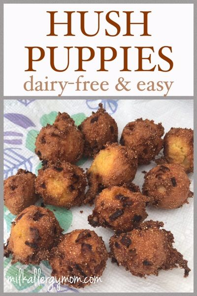 Dairy Free Hush Puppies Recipe Milk Allergy Friendly Vegan Hush Puppies Recipe Dairy Free Hush Puppies Recipe