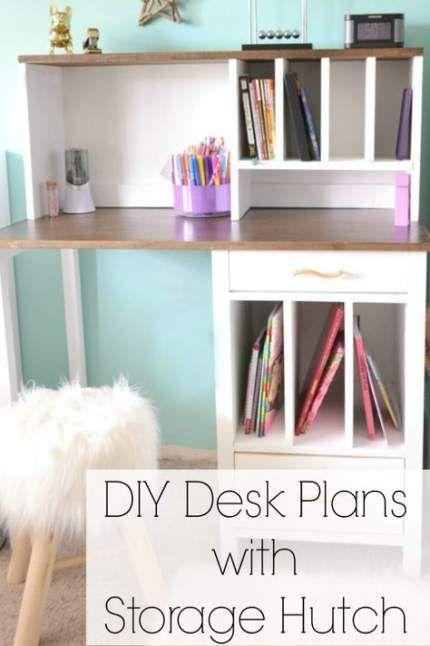 37 Trendy Diy Kids Desk Organization Ana White Diy Diy Kids Desk Kids Desk Organization Diy Desk Plans