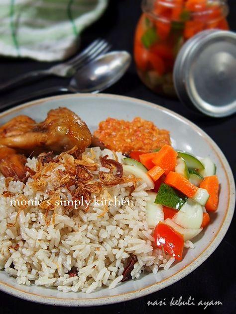 Resep Nasi Kebuli Ayam Versi Kukus Resep Makanan Makanan Dan Minuman Resep Masakan
