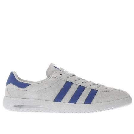 Adidas light grey bermuda trainers